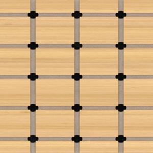 תקרת עץ חירוץ - DK 32x32 DS 1000