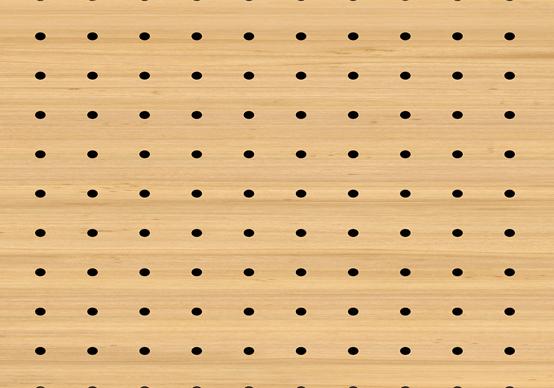 תקרת עץ חירור - KD 16x16x3-10mm DS 8000