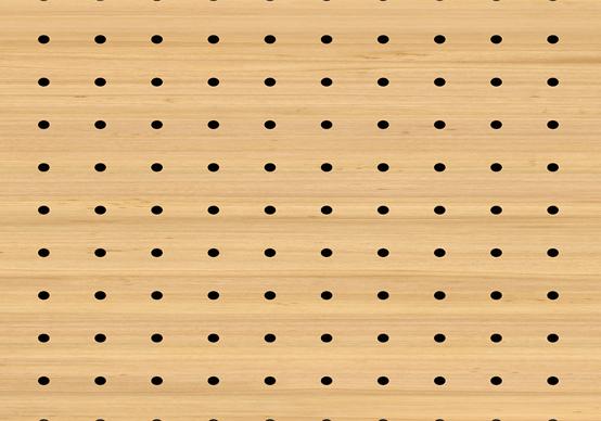 תקרת עץ חירור - KD 16x16x3-12mm DS 4000